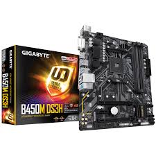 Main Gigabyte B450M DS3H mới (Chipset AMD B450/ Socket AM4/ VGA onboard)