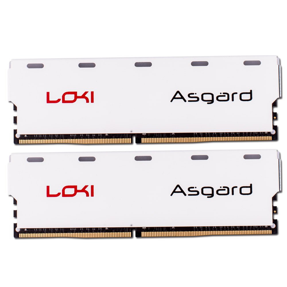 Ram ASGARD 8Gb DDR4 BUS 2666 LED RGB